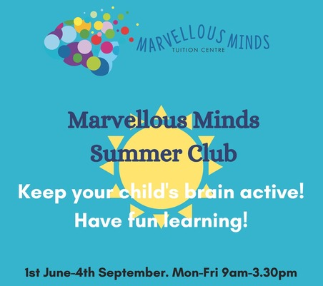 Marvellous Minds Summer Club, Bedford