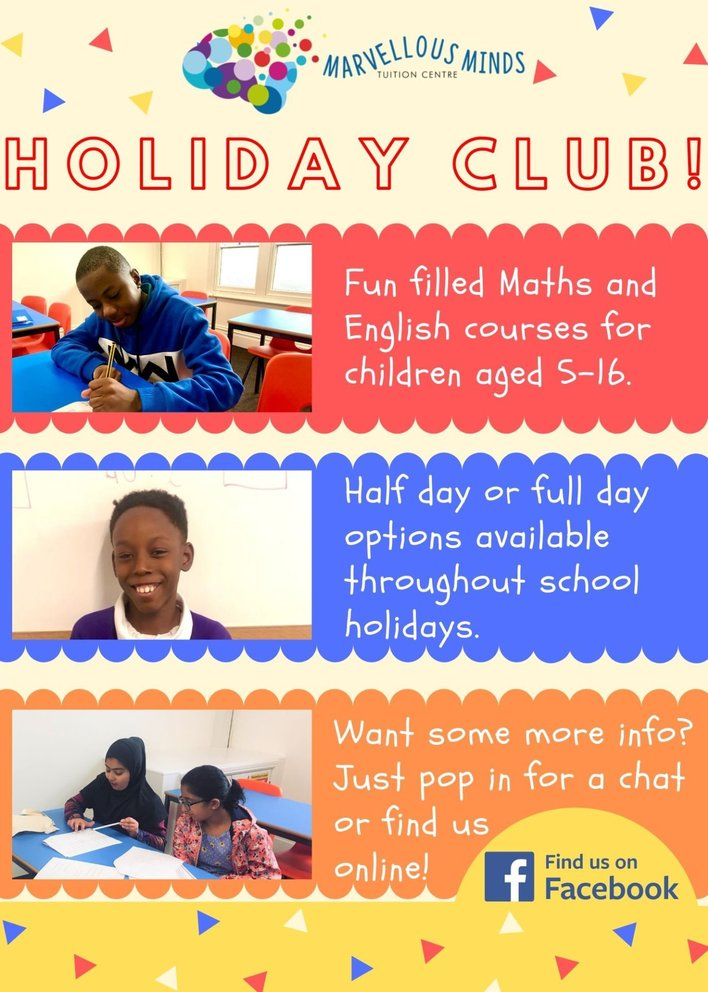 Marvellous Minds Holiday Club